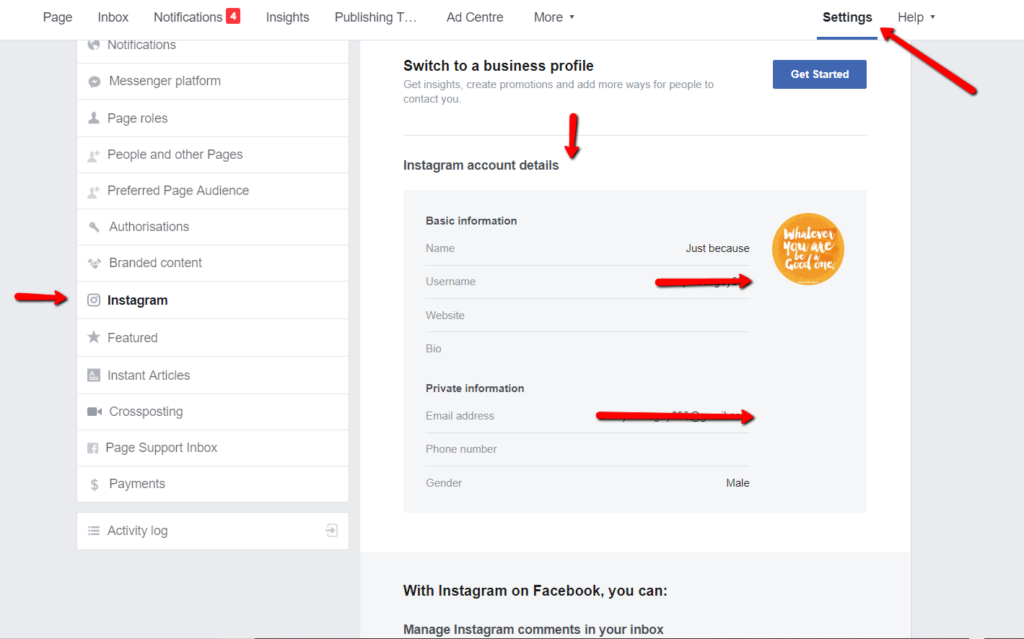 Integration: Connect & Manage Instagram Accounts via